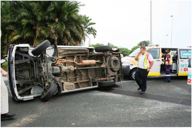 Photos from accidents in Durban