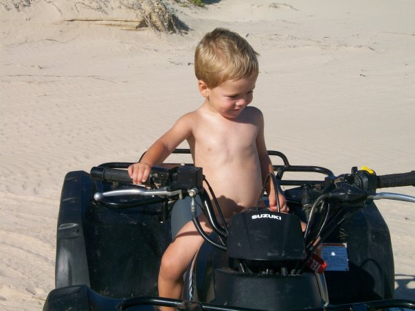 Protect children from quad bike accidents!