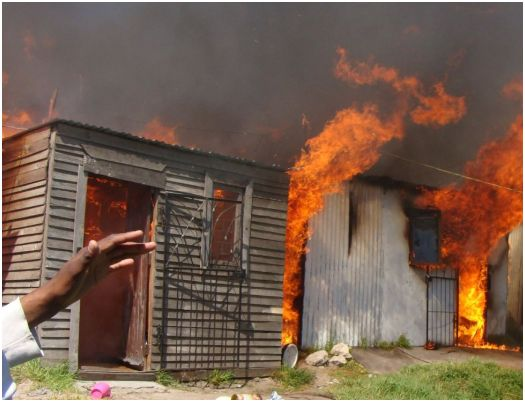 Nearly 100 Durban informal dwellings destroyed by fire