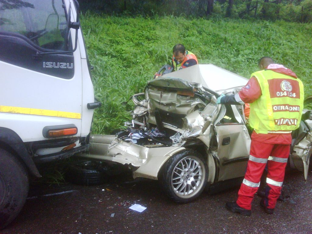 Serious Collision on the N3 Highway, Durban, leaves One Dead