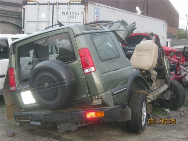 Photos of vehicles from horrific accident on N17