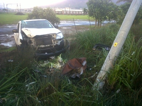 Single Vehicle Accident On The N1, Leaves Driver Injured