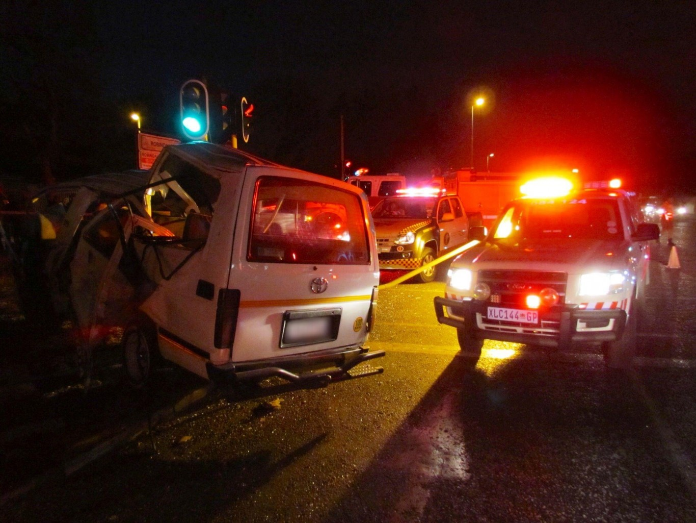 Linden Road Car Accident