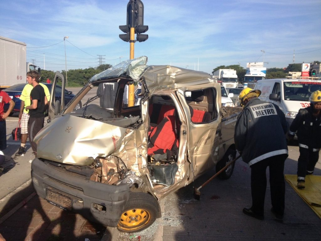Accident leaves three injured, two critical