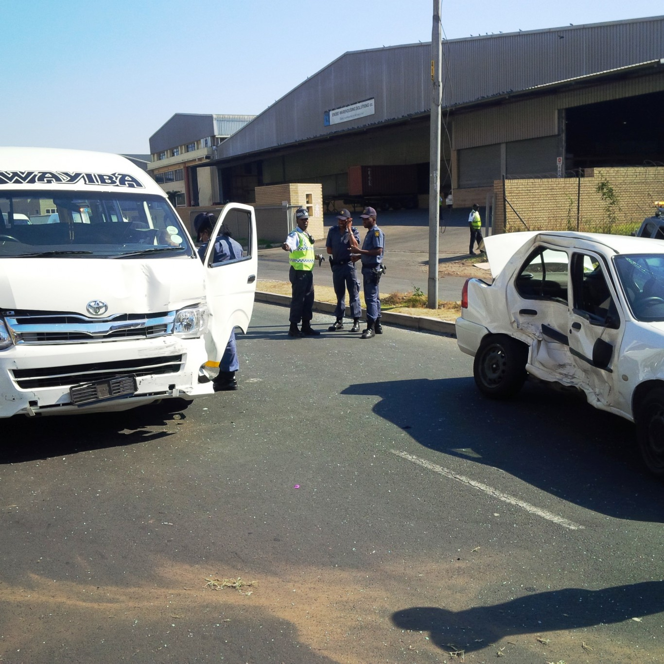 Taxi accident leaves 9 injured on South Coast Road near