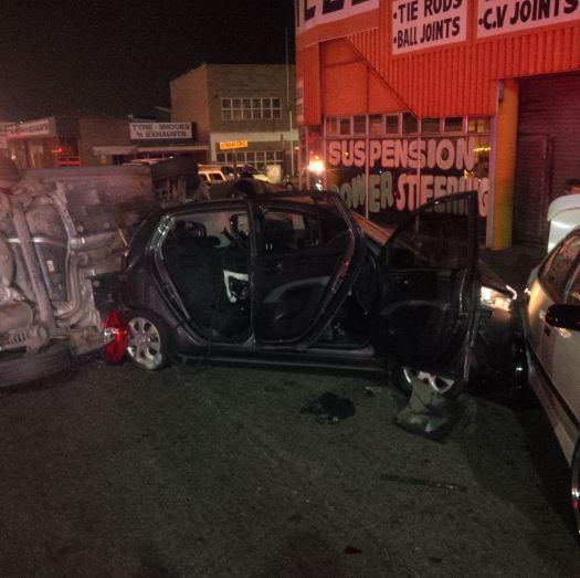7 Car pile up on weekend leaves 5 injured in Durban