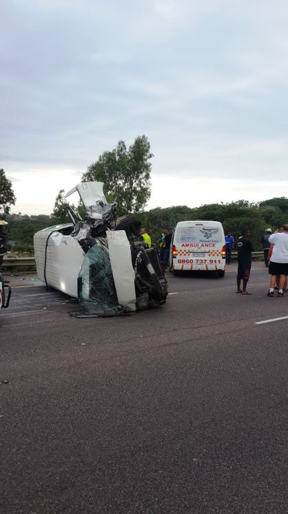 Sunday morning taxi collision leaves 12 injured in Durban
