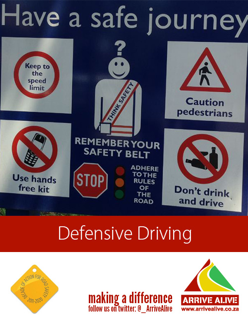 Road safety – ten simple steps for driving safely