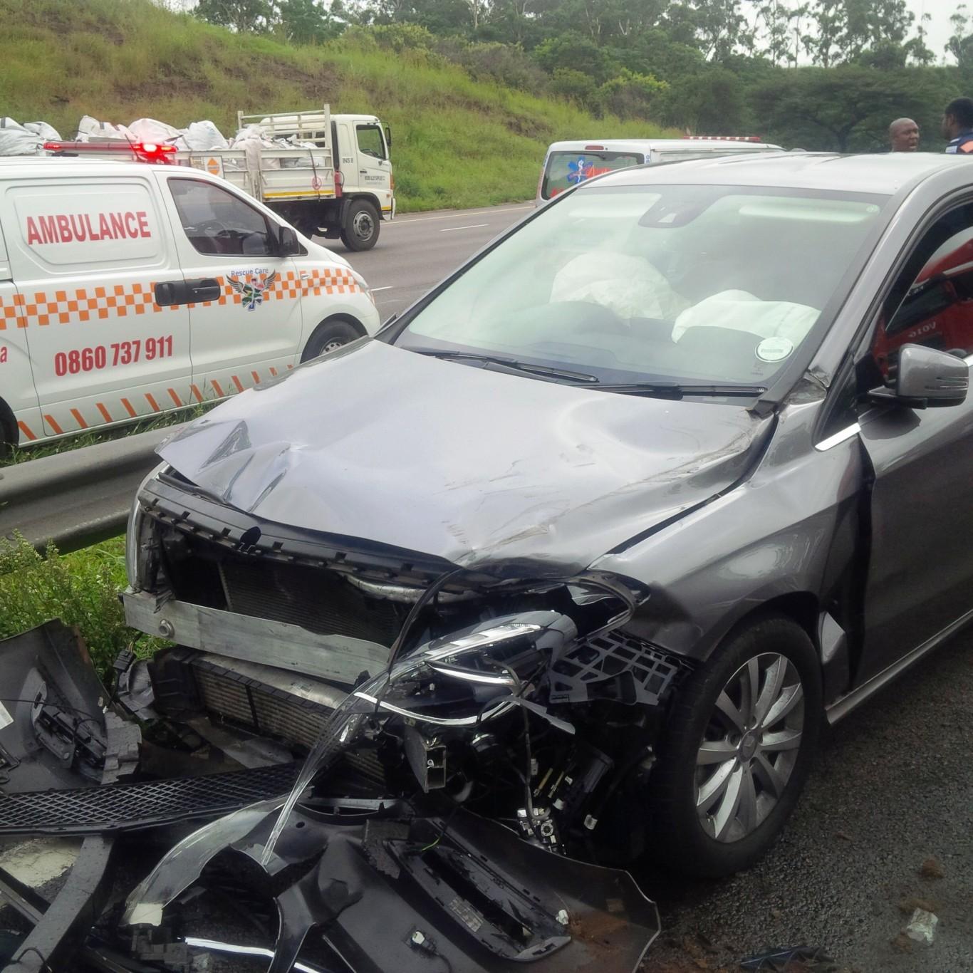 4 Injured in freeway crash in Durban