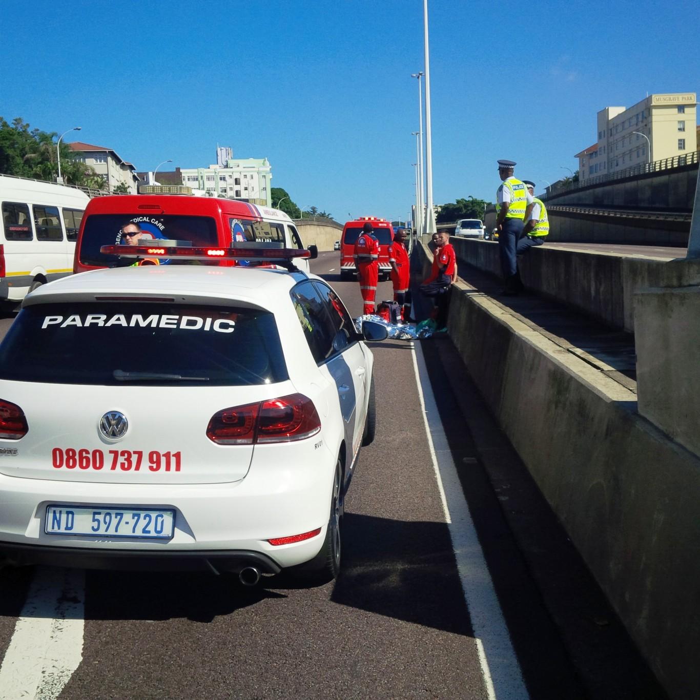 Pedestrian killed on N3 Highway Durban