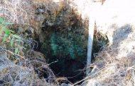 Woman falls down illegal gold mine