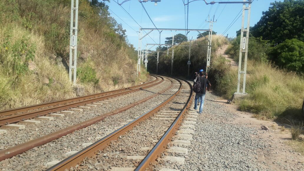Man hit by train in KZN