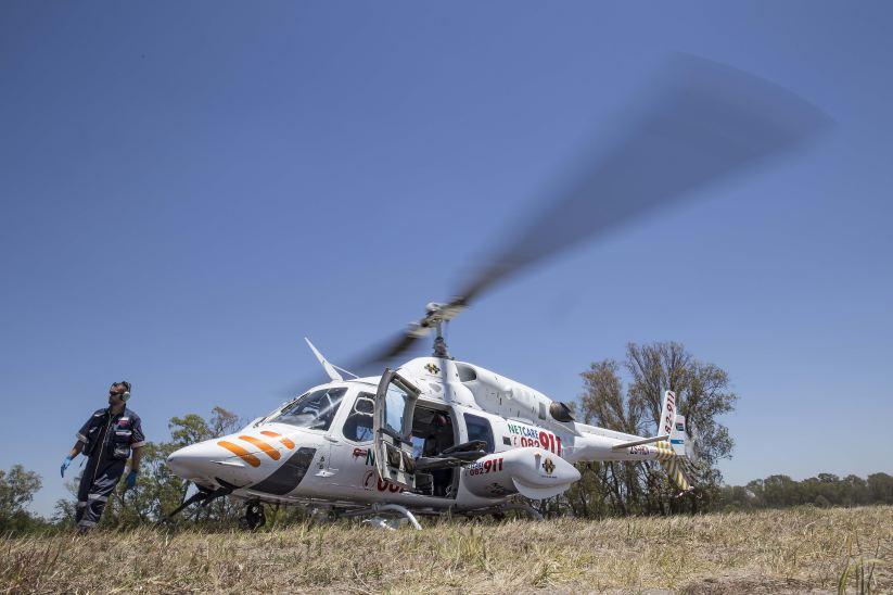 Netcare airlifts critically injured woman to Johannesburg hospital