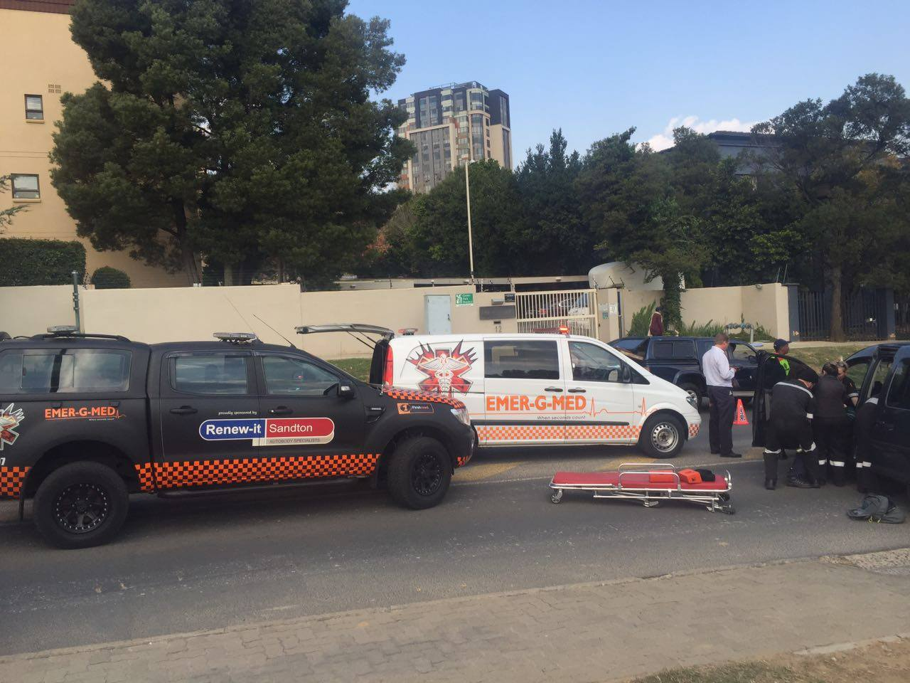 Two injured in collision in Morningside