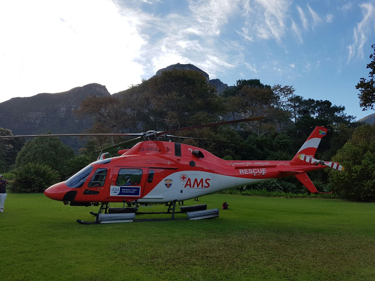 Man rescued off Table Mountain