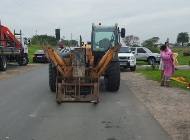 One person has died after a scooter collided with a payloader in Hanover Park
