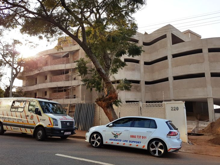 Man falls to his death at a construction site in Currie Road, Durban