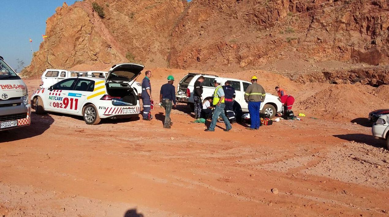Pretoria blasting accident leaves 14 injured