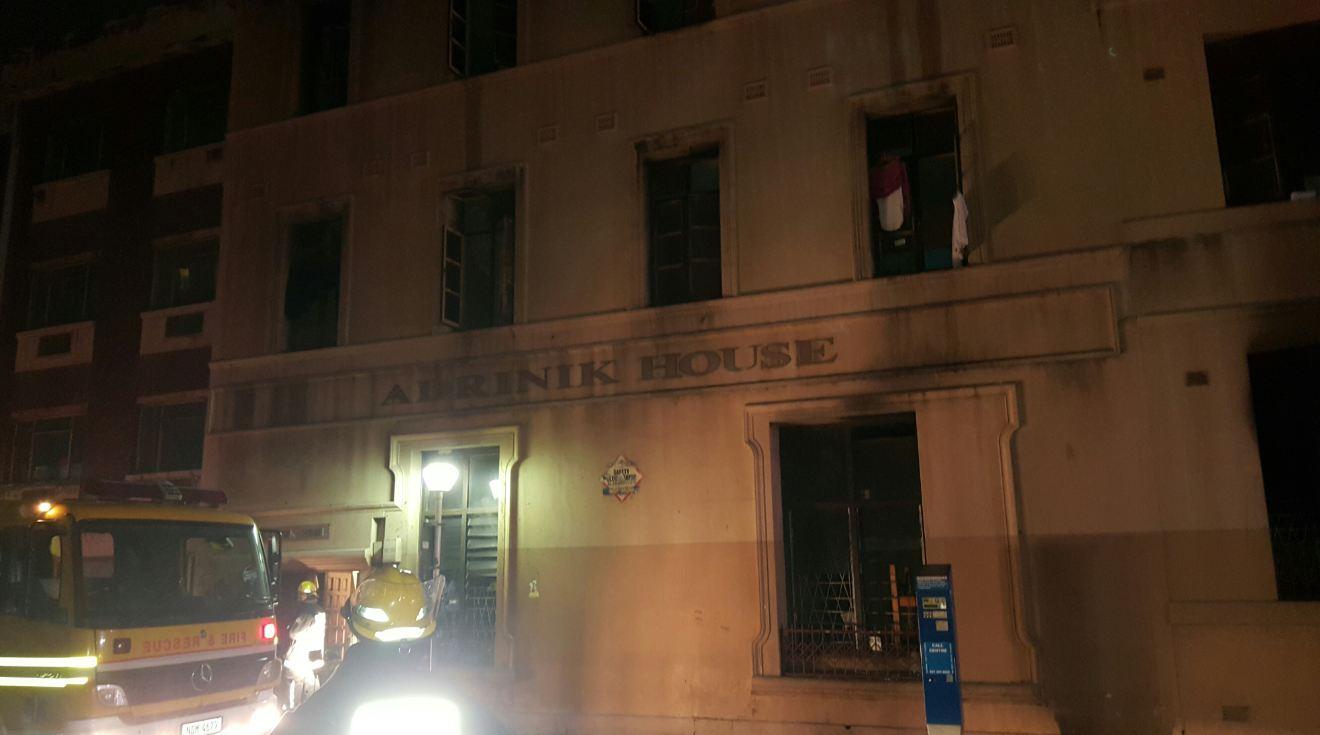 3 injured in building fire in Durban CBD