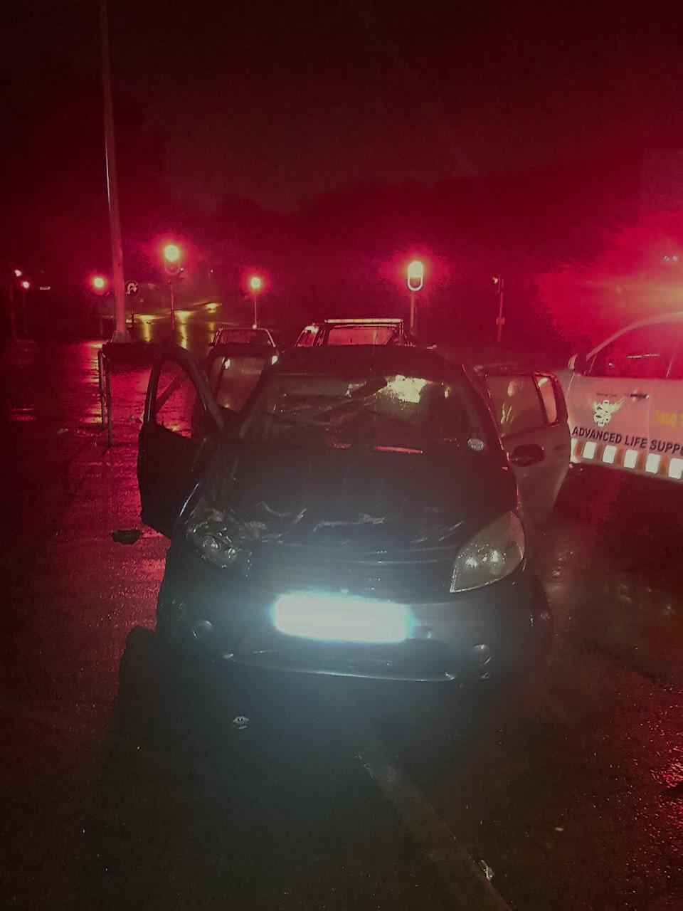 2 Injured in Pinetown crash