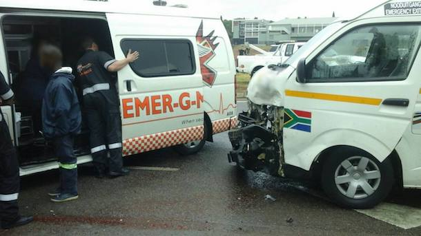 Multiple passengers injured after taxi accident