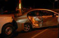 Late on Saturday night multi-vehicle collision Johannesburg