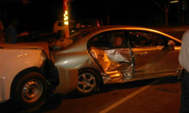 Late on Saturday night multi-vehicle collision Johannesburg