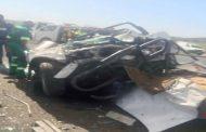 BLOEMFONTEIN three killed, three seriously injured in N8 collision