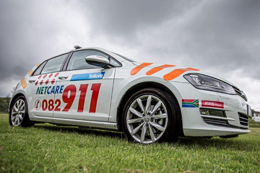 Sunninghill four people sustained minor injuries