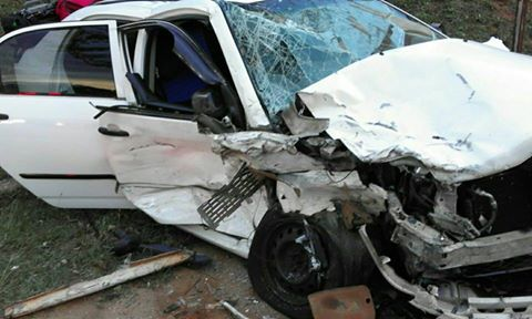 Muldersdrift six people when vehicles collided