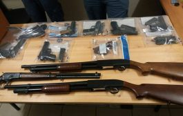 Domestic violence complaint leads to recovery of 10 firearms