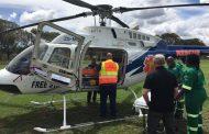 Air evacuation after collision near Harrismith