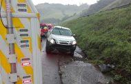 One injured when a vehicle overturned on the N3 near Shongweni, KZN.