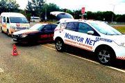 Collision between two vehicles on Botha Avenue, Lyttleton