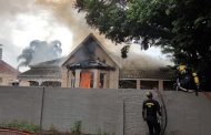 House catches alight in Currie Road near Berea Road in Berea