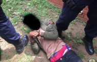 A man arrested for housebreaking in the suburb of Umgeni Park, north of Durban