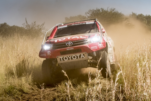 Poulter/Von Zitzewitz to compete in Qatar cross country rally 2017