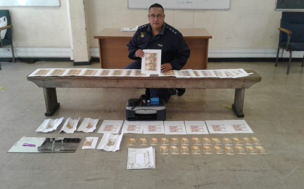 Man arrested allegedly busy manufacturing counterfeit money