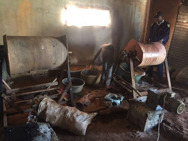 2 men arrested for illegal mining activities, Gauteng