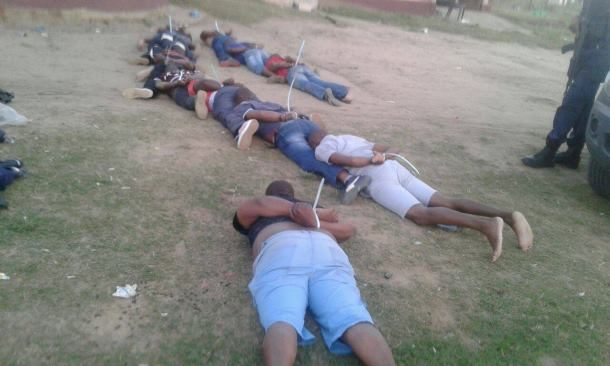 Twelve suspects nabbed whilst attending a 'cleansing ceremony', KwaZulu-Natal