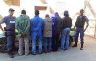 Five suspects arrested for business robbery in Upington