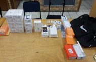 Recovery of stolen property and no arrest being made, Durban