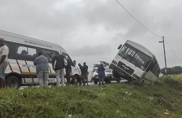 Amanzimtoti Bus incident leaves 72 injured