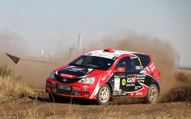 Third place for Toyota Gazoo racing SA'S Botterill/Vacy-Lyle on 2017 Secunda Rally