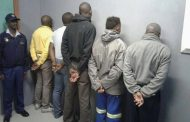 Five suspects arrested for armed robbery, Hammanskraal
