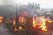 Wood & Iron Home Burns Down at Verulam