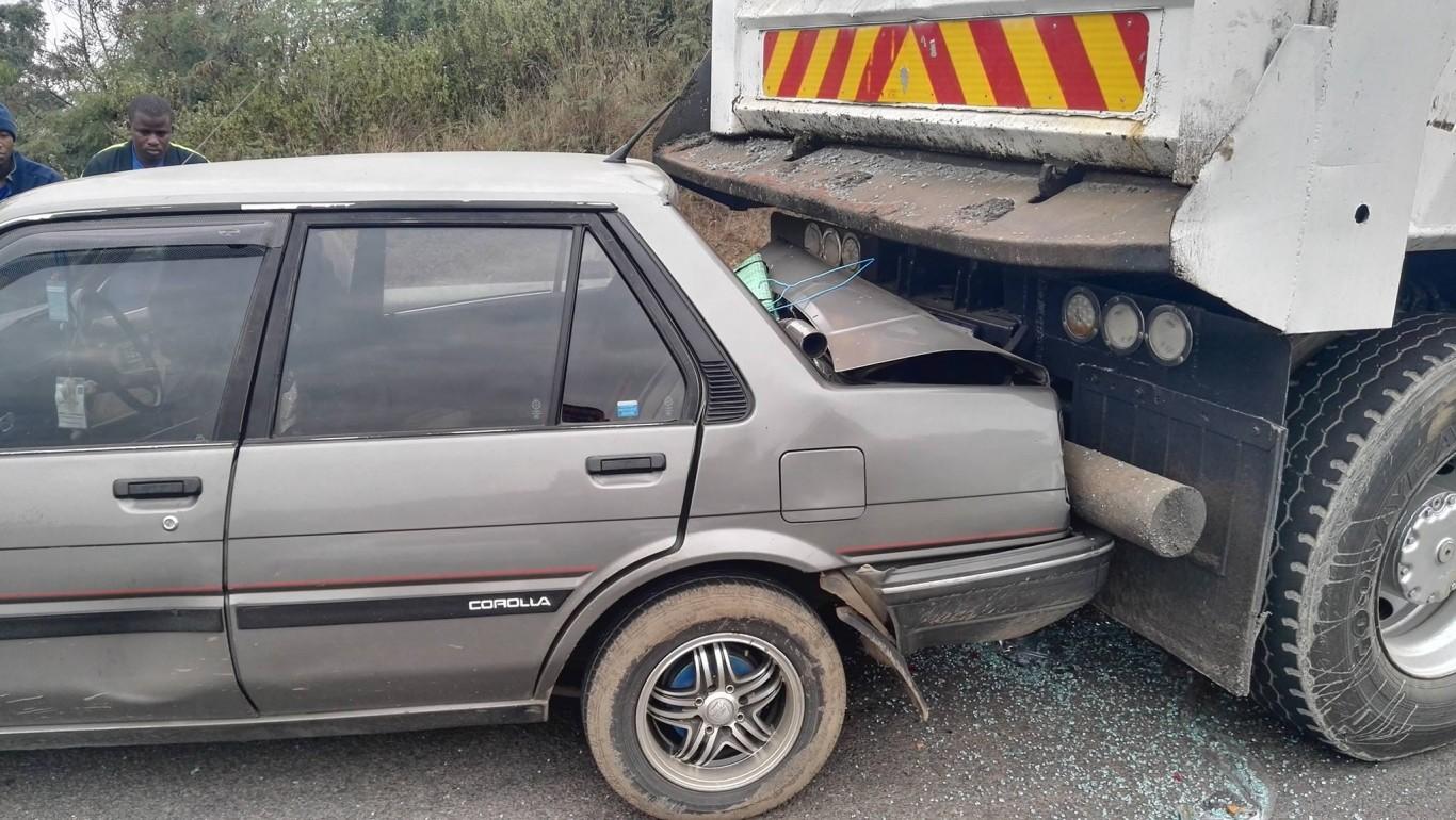 Four Injured In Collision, R102 Verulam