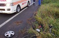 Cyclist injured in crash on the M7 Near Dettman Highway