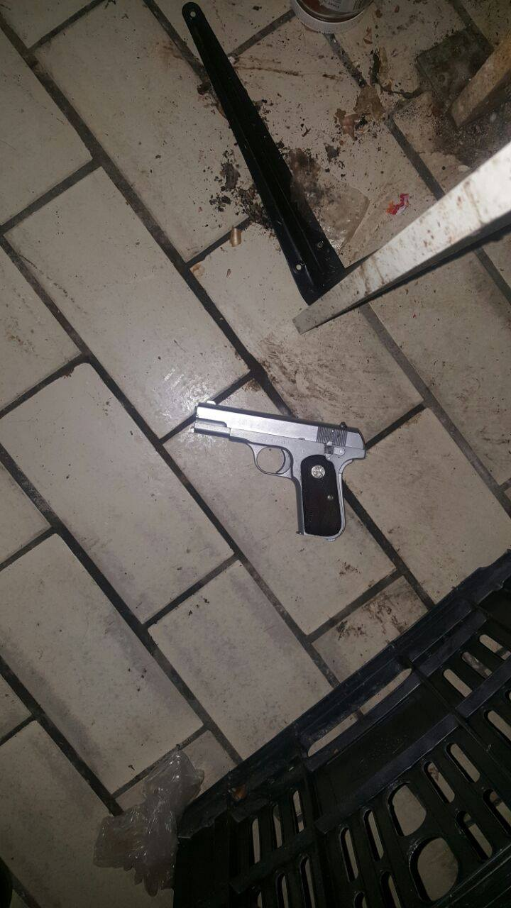 Three suspects arrested after shooting at police, Motherwell.