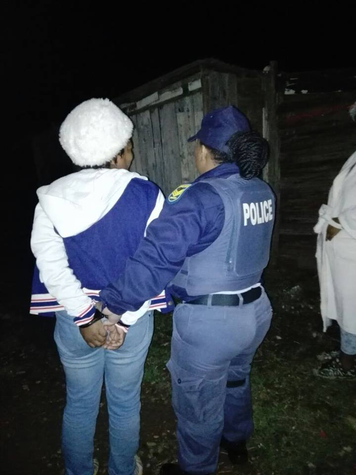 Five suspects arrested during raid, Humansdorp
